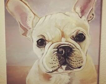 Custom Painted Pet Portraits -