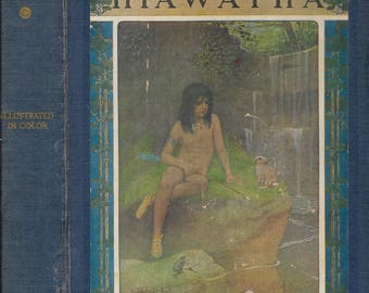 The Story of Hiawatha,  illustrated by Maria L. Kirk