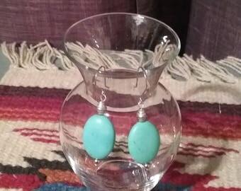 Turquoise style earrings