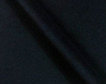 100% Cashmere Coating Fabric in Navy from Ralph Lauren - Sold by the yard