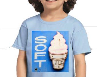 Soft n Creamy Youth Black T-Shirt