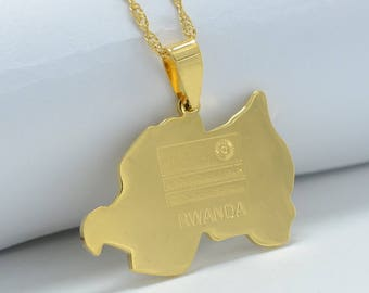 Golden Rwanda Necklace