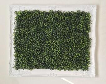 Faux Hedge Decor Frame
