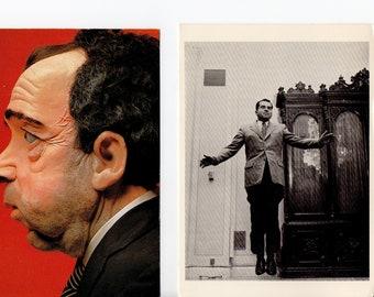 Vintage JFK Ask Not Postcard | President, John F Kennedy, Chrome, Famous Quote  | Paper Ephemera