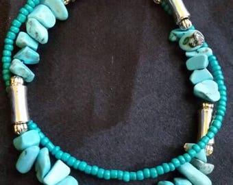 Native American inspired bracelet