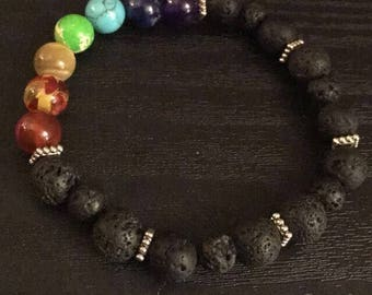 Chakra bracelet essential oils diffuser