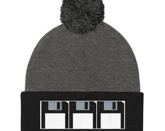 Floppies Pom Pom Knit Cap