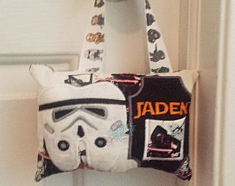 Trooper Tooth Fairy Pillow, Space Soldier, Money Holder, Teeth, Dentist, Tooth Holder, Tooth Fairy, Dental, Kids, Pouch