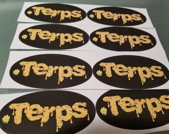 Terps Sticker - 2pc.