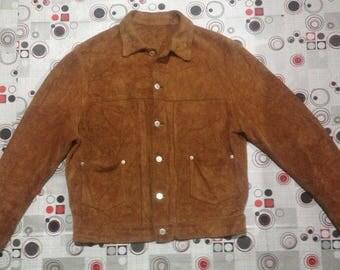 RARE Good Enough suede jacket