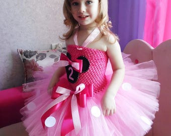 Pink Minnie Mouse Birthday dress, Minnie Mouse Dress Toddler, Minnie Mouse Tutu Outfit, Minnie Mouse Tutu Baby, Minnie Mouse Tutu Set