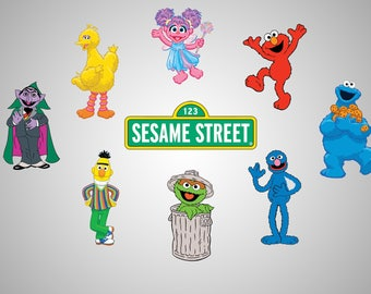 Striking image throughout printable pictures of sesame street characters