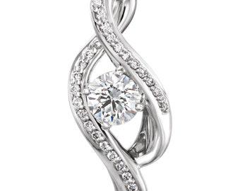 0.07 CTW Diamond Pendant