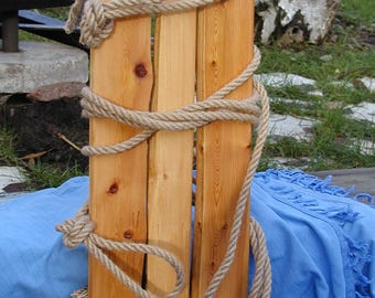 Wooden swing also for adults