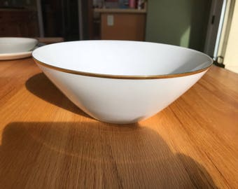 "Rosenthal Continental style Classic Gold 9"" round Vegetable Bowl"