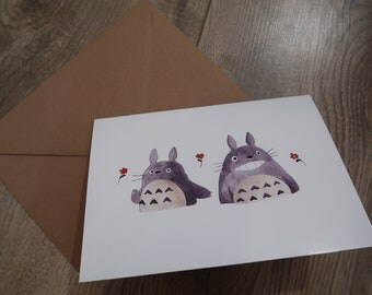 Studio Ghibli: My Neighbour Totoro A5 Greeting Card