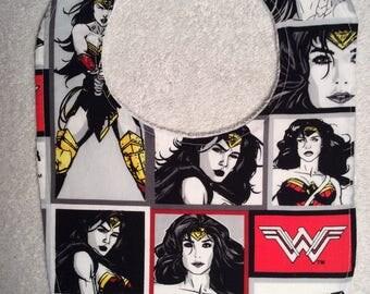 Wonder Woman Baby Bibs