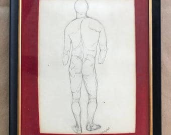 Pencil Sketch Dated 1968