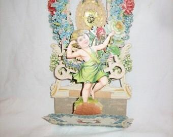 Antique Vintage Valentine Card