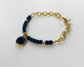 Blue Is Your Color Bracelet
