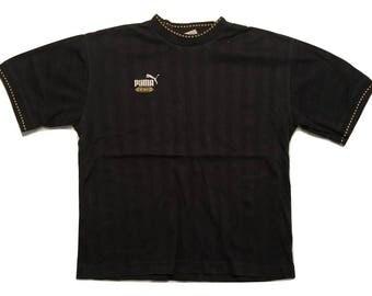 Puma T shirt 90s Vintage - Sz L