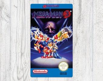 NES label: Mega Man 3 [FRA]