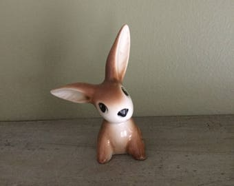 Rare brown GOEBEL bunny rabbit porcelain Germany