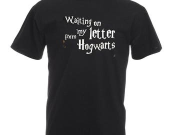 Harry Potter inspired Hogwarts T-shirt, 100% cotton