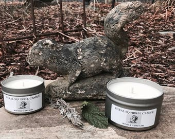 Soy Candle Travel Tins