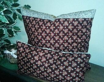 Rustic Accent Pillow Set