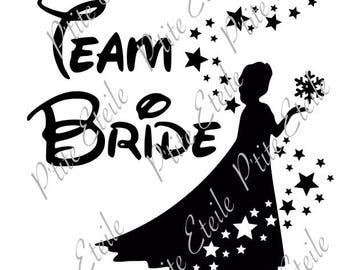Disney - Team Bride - Elsa