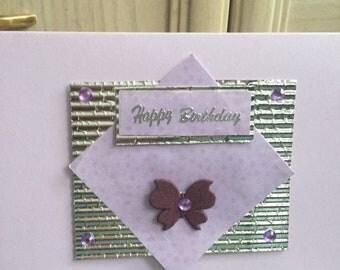 Birthday card hand made