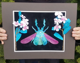Cherry Blossom Stag Beetle