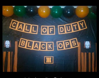 Call Of Duty Black Ops 3 Birthday Banner