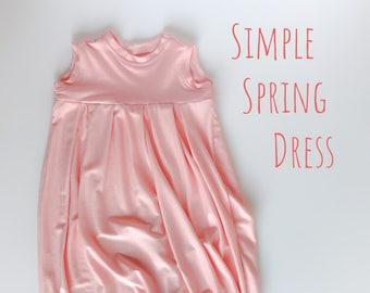 Empire Dress, long dress , girls dress , spring dress .
