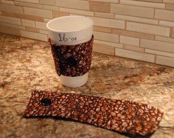 Coffee Sleeve, Coffee Cozy, Java Jacket, Joe Jacket