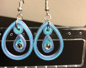 Quilling Loop Earrings