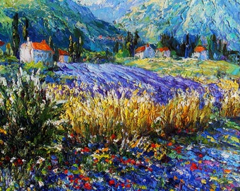"""picture """"Blooming Provence"""""""