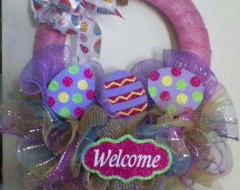Easter wreath, Spring wreath