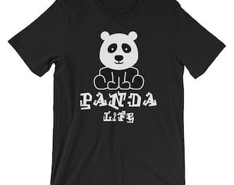 Cute Panda Life T-shirt Panda Lover Tee