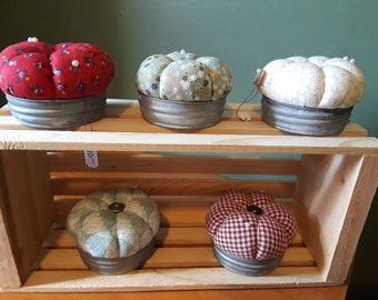 Mason Jar Lid Pin Cushion