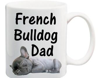 French Bulldog Mug, Dad Mug