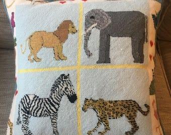 Bespoke Needlepoint Cushion