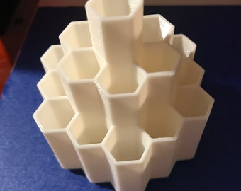 Honeycomb Pen And Pencil Holder