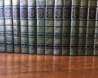 1962 Funk & Wagnalls Encyclopedia set