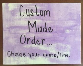 Custom Made Painting