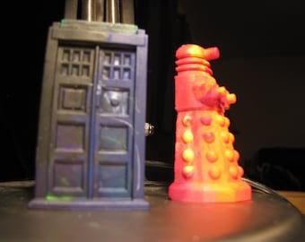 Tardis and Dalek Crayons - Doctor Who