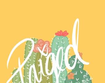 Yellow Cacti