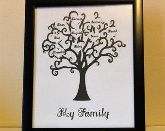 Handmade Family Tree