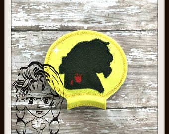 BeAST Silhouette PRiNCE Ear (Add On ~ 1 Pc) Mr Ms Mouse Ears Headband ~ In the Hoop ~ Downloadable DiGiTaL Machine Emb Design by Carrie